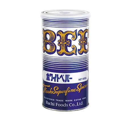 ホワイトペッパー 400g缶